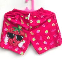 Celana Pendek Santai Anak Perempuan 2 Warna 3 Tahun