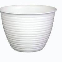 pot Tanaman dan Bunga plastik tawon putih 27cm