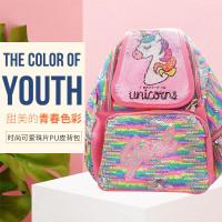 Tas Ransel Sequin Unicorn / Tas Ransel Anak / Tas Unicorn - SQ07