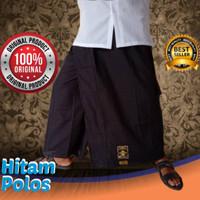 Wadimor Sarung Celana Dewasa Original Warna Hitam Polos Ready stock
