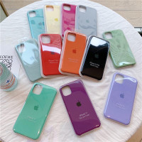 Premium Silicone Case iPhone 7+ sampai 11 Pro Max (NON FULL COVER)