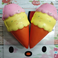 Squishy Murah Mini Ice Cream Cute Sunny