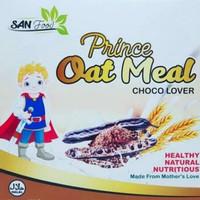 SAN Baby Food Prince Oat Meal Cokelat 125 gr