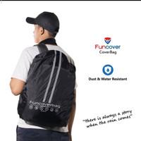 raincoat cover bag backpack ras gaun cover 30L