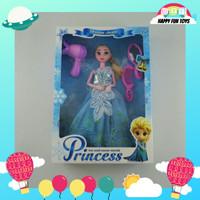 Boneka Barbie Frozen Elsa