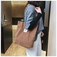 Tote Bag Corduroy / Tas Slempang Wanita / Corduroy Tote Bag - TB077