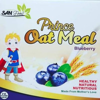 SAN Baby Food Prince Oat Meal Blueberry 125 gr
