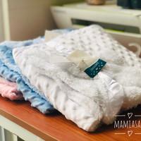 Selimut Bayi BULU HALUS Premium Double Fleece Baby Blanket