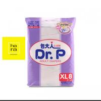 DR. P Adult Diapers Popok Dewasa Unisex Basic Type XL 8