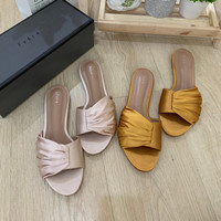 Sendal wanita cewek PS003 Flat shoes mules heels wedges bag pedro ori