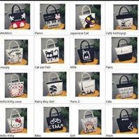 tas jinjing wanita import /lunch bag/ tas multifungsi