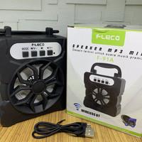 Speaker FLECO 91A - Speaker Bluetooth Mini Radio Portable FLECO F-91A