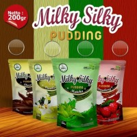SAN Baby Food Milky Silky Pudding Vanila 200 gr