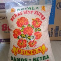 beras setra ramos bunga 5kg