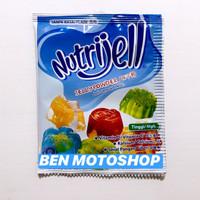 Nutrijell Plain 15g 15gr 15 g gr - Nutri Jell Tawar Agar Jelly Powder