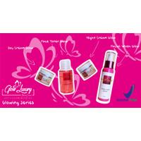 BPOM GLOW LUXURY SKINCARE glow series / cream wajah/ pemutih/glowing