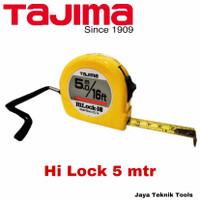 Meteran Tajima 5 meter Hi Lock Kuning Measuring Tape