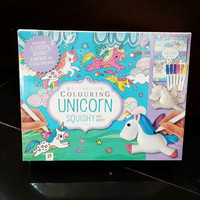 Kaleidoscope Colouring Unicorn Squishy