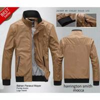 jaket harrington/jaket outdoor waterproof/jaket motor pria