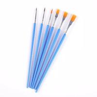 Kuas Lukis Set Cat Akrilik Minyak Paint Brush Kuas Lukis Anak