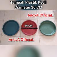 TAMPAH PLASTIK UKURAN KECIL. 35 / 36 CM.