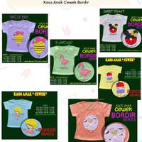 Kaos Anak Cewek umur 1-4 Tahun