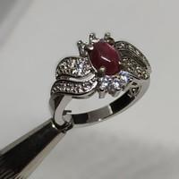 cincin wanita batu permata RUBY STAR