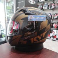 KYT K2rider World GP Black Gold 2Visor Special Edition