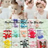 bandana set bayi balita lucu warna-warni berkualitas