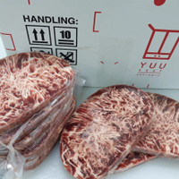 Daging Sapi Premium AUS HIDE Sirloin Steak Wagyu Quality
