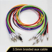 Kabel aux Audio 1-1 jack speaker 3.5mm kwalitas bagus