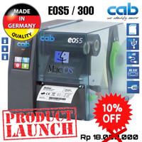 CAB EOS 5/300 THERMAL TRANSFER RIBBON BARCODE LABEL PRINTER-300 DPI