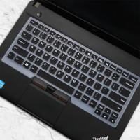 Cover Keyboard Protector Thinkpad E470 X1 Carbon E480 T470 T480 A485 - Hitam