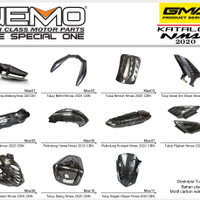 Paket Full set Carbon Premium Yamaha All New Nmax 2020