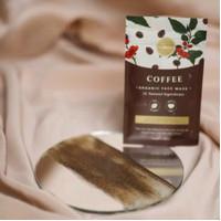 Masker Organik Crushlicious Coffee 60gr / Masker organik cewek cowok