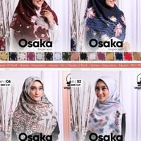 kerudung segiempat motif OSAKA by UMAMA RANDOM per 10pt