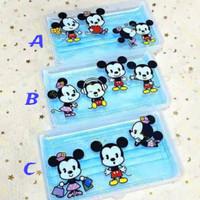 Mask Storage Box | Kotak Masker Mickey Mouse Stitch and Starwars