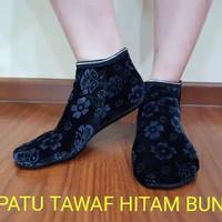kaos kaki sepatu boots tawaf tinggi kain beludru wol Haji Umroh