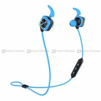 Headset Earphone Sports Bluedio CCK KS Plus Blue Original Termurah