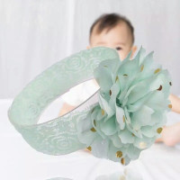 Bandana Bayi Perempuan Lucu / Bando Bayi Bunga Besar/Bandana Bayi Unik