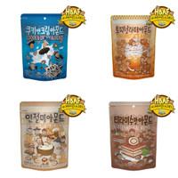 Honey Butter Almond Cookie&Cream Toffeenut Latte Tiramisu Injeolmi