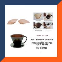 Coffee Maker / Alat Kopi Dripper Filter / Flat Bottom Coffee Set