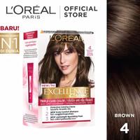 L'Oreal Paris Excellence Creme Hair Color #4 Brown