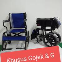 Kursi Roda Traveling juara non sella non Gea khusus grab gojek