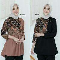 Blouse batik/Baju Batik Wanita/Tunik Batik/Baju Kantor BL 20