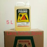 Minyak Goreng Kelapa Pyramid 5 Liter Kemasan Jerigen