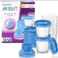 philips avent breastmilk storage cup 180ml 10pcs