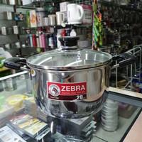 Panci Sauce Pot D20cm Zebra Cesar, SUS 304, Thailand Made
