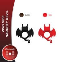 VIVO Kondom Getar - Naughty Devil - Pemijat dengan getaran lembut