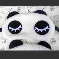 Penutup Mata Tidur anak panda / masker mata / travel sleep mask